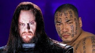 WWE Mashup: Undertaker & Hakushi (RavenCyarm)
