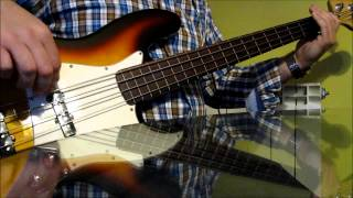 The Cure - A Forest Bass Cover (Riff)