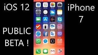 iOS 12 Beta 2 on iPhone 7 speed test and little review