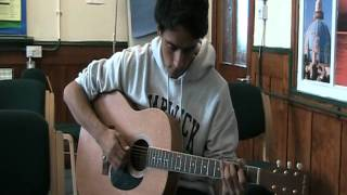 Trouble's What you're in by Fink (cover)