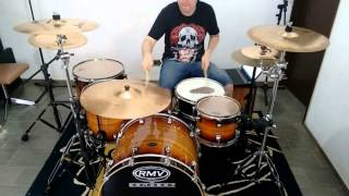 Sem medo de amar - Onze20 (Drum Cover)