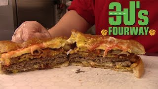 THE BOMB BURGER - 3J's FourWay