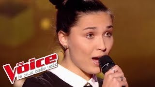Camille Esteban « Dans le Noir » (Diam's) | The Voice France 2017 | Blind Audition