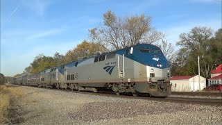 Amtrak Engineer Talks Over Radio as the California Zephyr Comes By