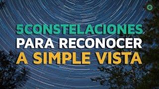 5 Constelaciones para reconocer a simple vista