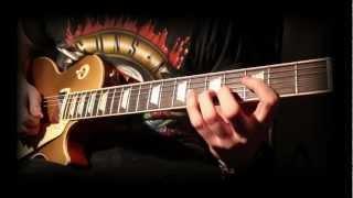 'BAD RAIN' -  Slash - Full Instrumental Cover - Performed by Karl Golden & Lion (TheDwlion)