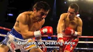 Nonito Donaire talks about win over Jorge Arce - dSource Interview