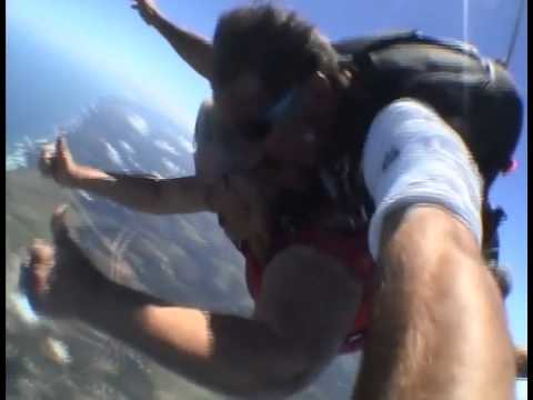 Skydiving at Plettenberg Bay (2011)
