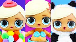 5 DIY LOL Surprise Doll Custom | No Clay, No Painting, No Sewing! | 5 minutes craft