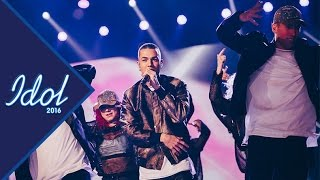Liam Cacatian Thomassen - Drag me down   Idol Sverige 2016 (TV4)