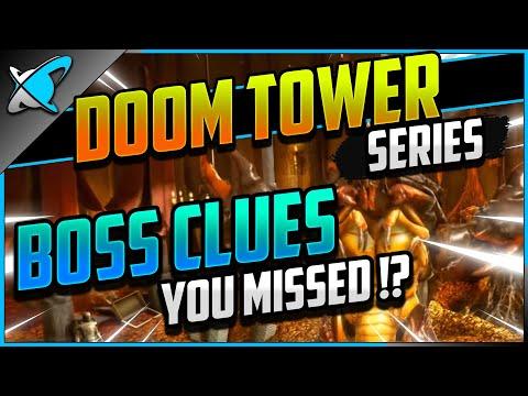 CLUES YOU MISSED!? |  Doom Tower Bosses Breakdown | RAID: Shadow Legends