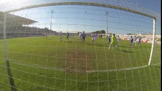GoPro HD | 1º golo do GD Gafanha apontado por Ruben Filipe Silvestre Vs RD Águeda