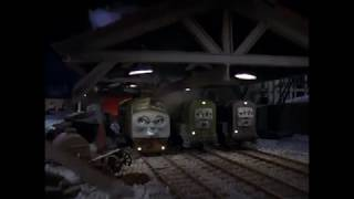 Thomas And The Magic Railroad Plotting at Knapford & Distracted Diesel 10 (With Sound Effects) 2