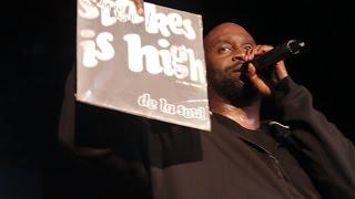 De La Soul - Stakes Is High (LIVE at Rhymefest LA)