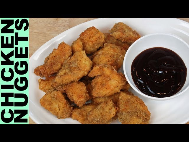 GLUTEN FREE CHICKEN NUGGETS A Really Delicious GF Homemade version of Chick-fil-A or McDonald's !!