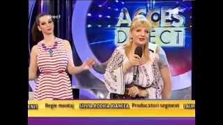 """Ileana Ciuculete - """"Asta este boala ta"""" - Acces Direct"""