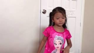 """Hola age 4 Dance """"on the floor"""""""