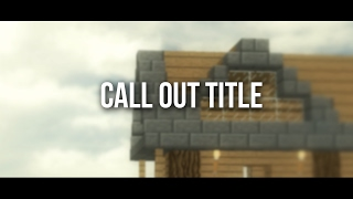 Call Out Title (After Effect)