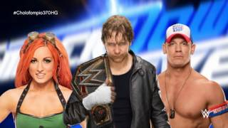 "WWE SmackDown Live 2016 New Theme Song - ""Take A Chance"" by CFO$"