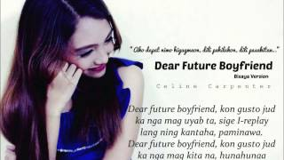 Dear future boyfriend by Celine Carpenter