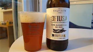 La Ofiusa Blonde By Cerveza Rubia Artesana con Algarroba | Ibiza Craft Beer Review