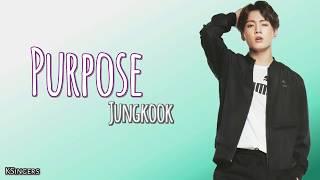 Jungkook (BTS) - Purpose (COVER) | Sub ESPAÑOL + ENGLISH | Letra | Lyrics