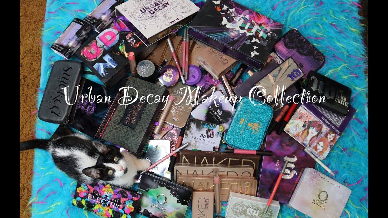 Urban Decay Makeup Collection 2014