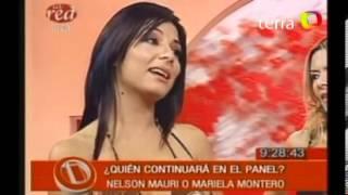 Mariela o Nelson Mauri deciden su continuidad en Intrusos 360p