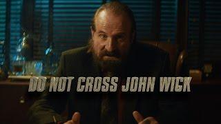 DO NOT CROSS JOHN WICK