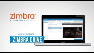 Zimbra Drive Product Overview - English