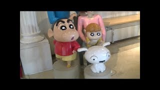 Crayon shin-chan is here.