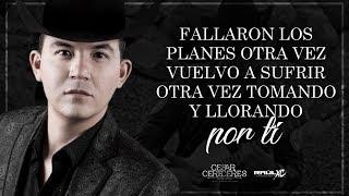 (LETRA) ¨NECIO CORAZÓN¨ - Cesar Cereceres Y Su Nuevo Estilo (Lyric Video)