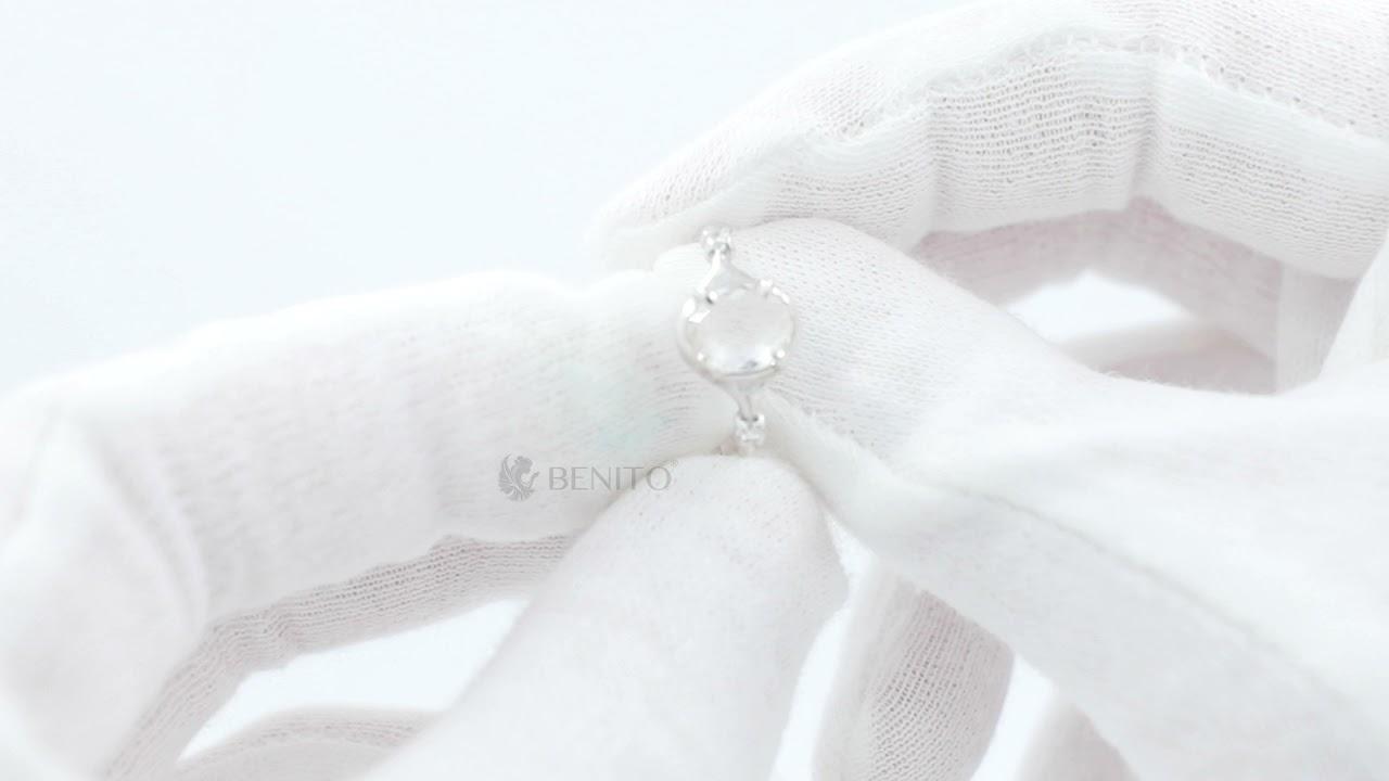 Sofia Ring White Mountain Crystal Stone