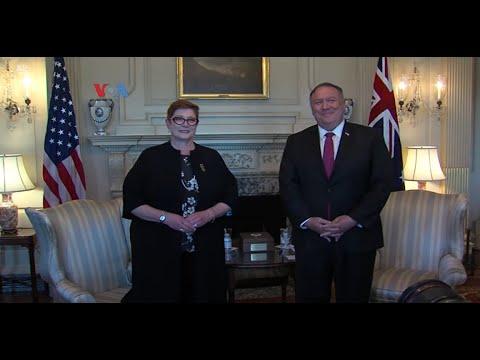 Menlu AS memuji sikap pemerintah Australia karena mampu berdiri tegak di tengah tekanan dari Tiongkok