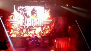 Sabaton - The Last Stand (Live at the Manchester O2 Apollo 13/1/2017 )