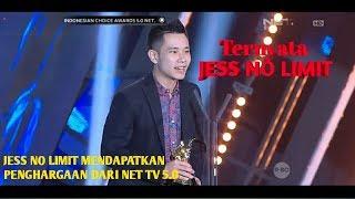 JESS NO LIMIT MENDAPATKAN PENGHARGAAN DARI NET TV 5.0