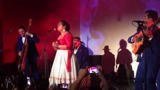 """La Santa Cecilia """"Amar y Vivir"""" live @ Evento Privado"""