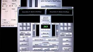 Screwlab  Demonstration - Recording Steps and Chopping with Sound Effects
