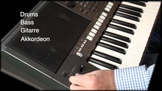 """Yamaha PSR - S970 Workshop 8 """"Einfach"""" Keyboard spielen (LIVE CONTROL)"""