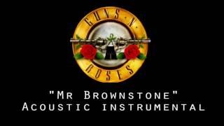 Guns n Roses - Mr brownstone - Acoustic instrumental