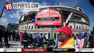 Cubs Wrigley Field Opening Day 2016