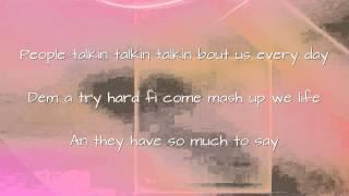 Mr Vegas - Let Them Talk (DNA Riddim) lyrics on screen