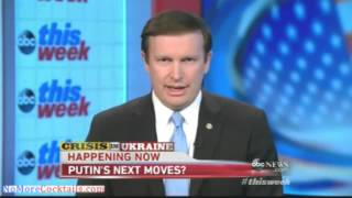 Dem Sen. Chris Murphy: Nothing we can do militarily if Putin decides to take Ukraine