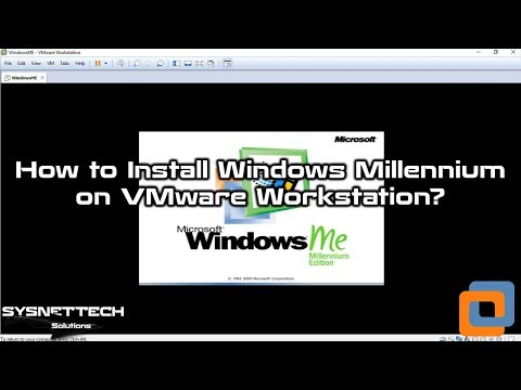How to Install Windows ME using VMware Workstation