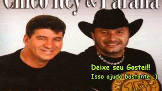 Chico Rey e Paraná-Leão domado