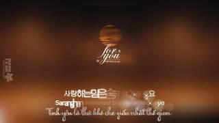 [Vietsub + Kara] For you - EXO Chen, Xiumin, Baekhyun OST Moon Lovers