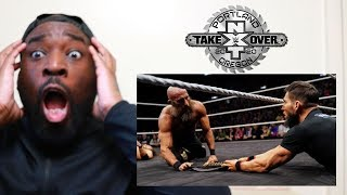 GARGANO HELPS ADAM COLE TO THE WIN !!! | NXT CHAMPIONSHIP | NXT TAKEOVER PORTLAND | REACTION