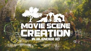 Movie Scene Creation in Blender 3D - Teaser (EN)