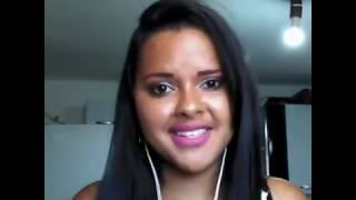 Cover Daiane Dias Duarte ( Eu vc o mar e ela) Luan Santana. A pedido da amiga Michele.