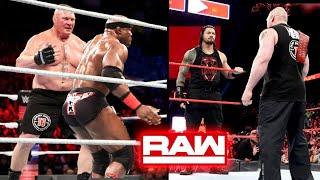 Lesnar Vs Roman & Lashley 2Vs1 ? WWE Raw 30 July 2018 Highlights Monday Night Raw 7/30/18 Highlights